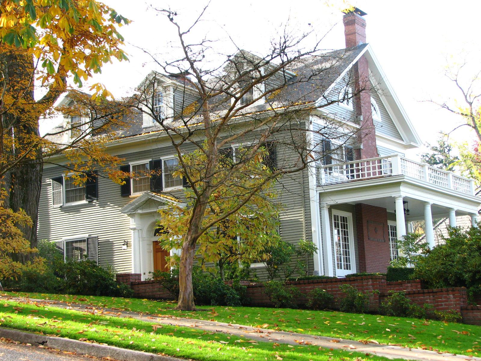 Portland's historic James Wheeler House in the affluent Homestead neighborhood